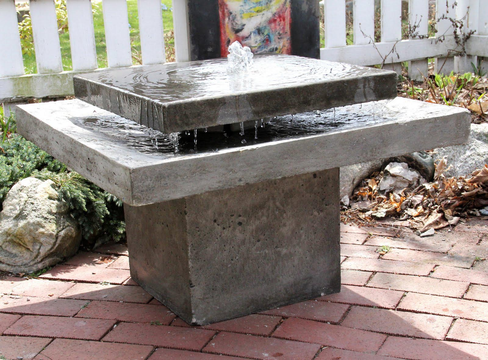 Image of: Top Concrete Fountains