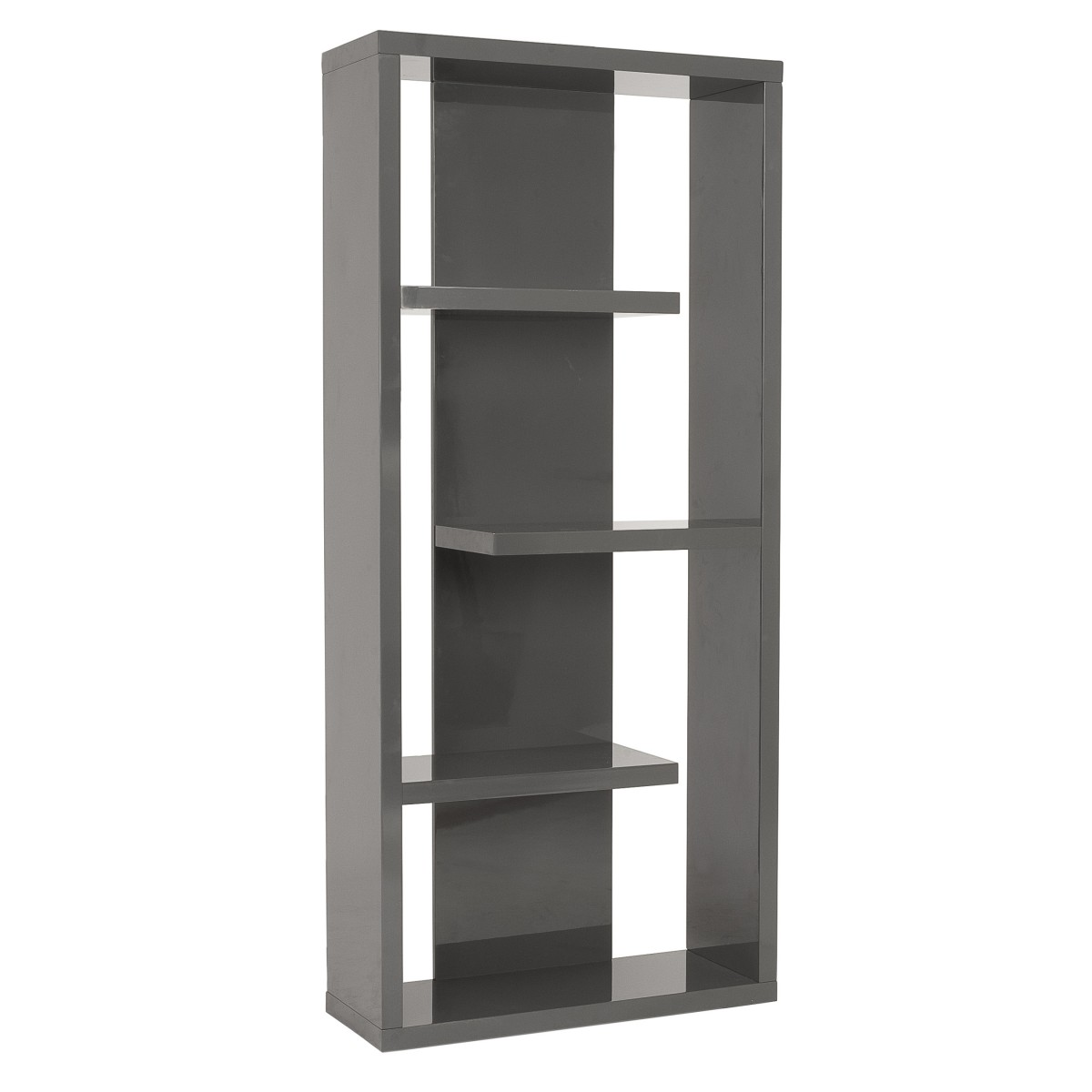 Image of: Top Grey Bookcase