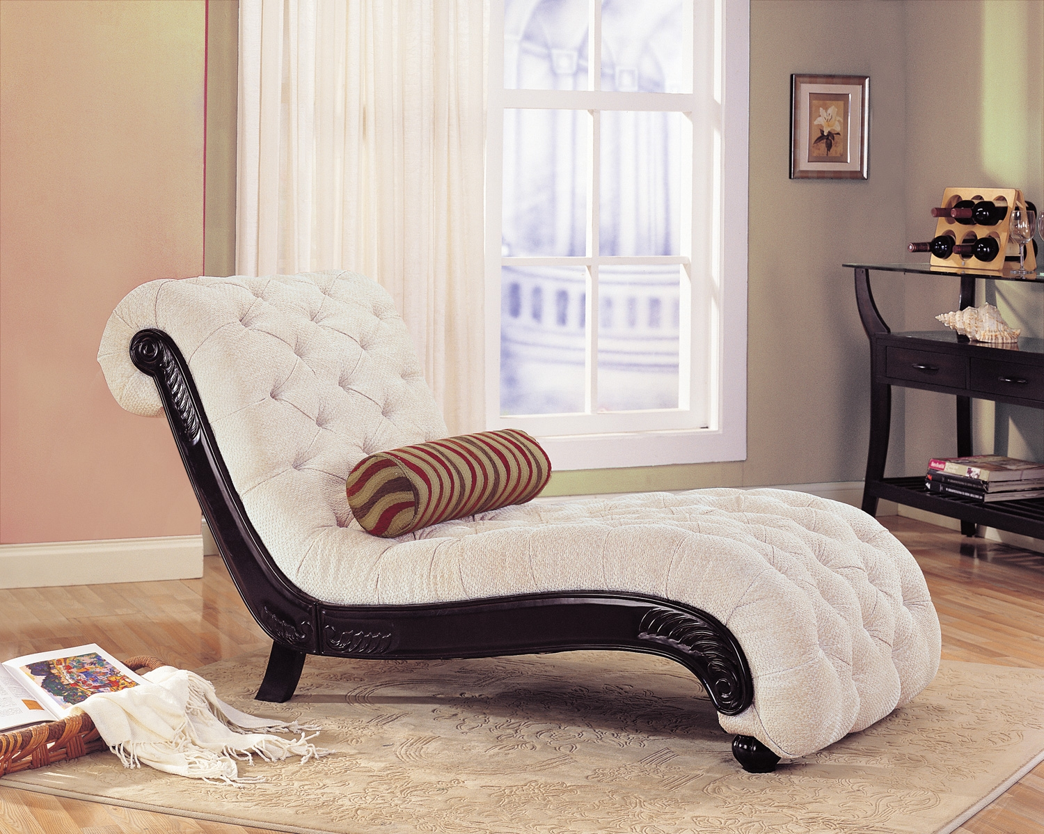 Image of: Top Indoor Chaise Lounge Chair