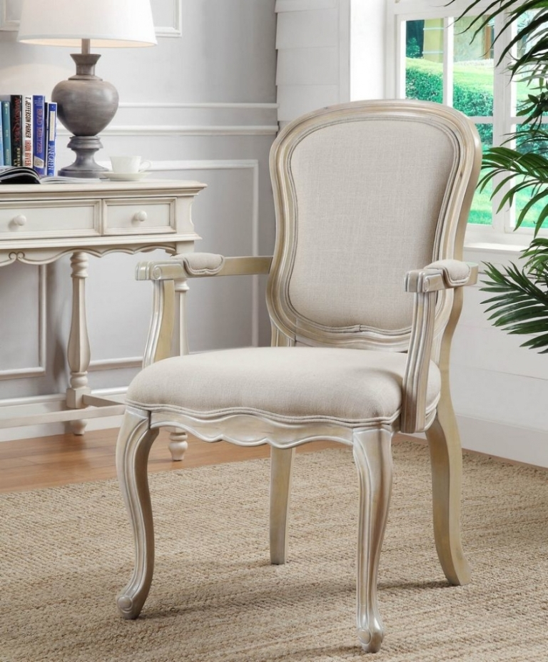 Image of: Top Ivory Accent Chairs