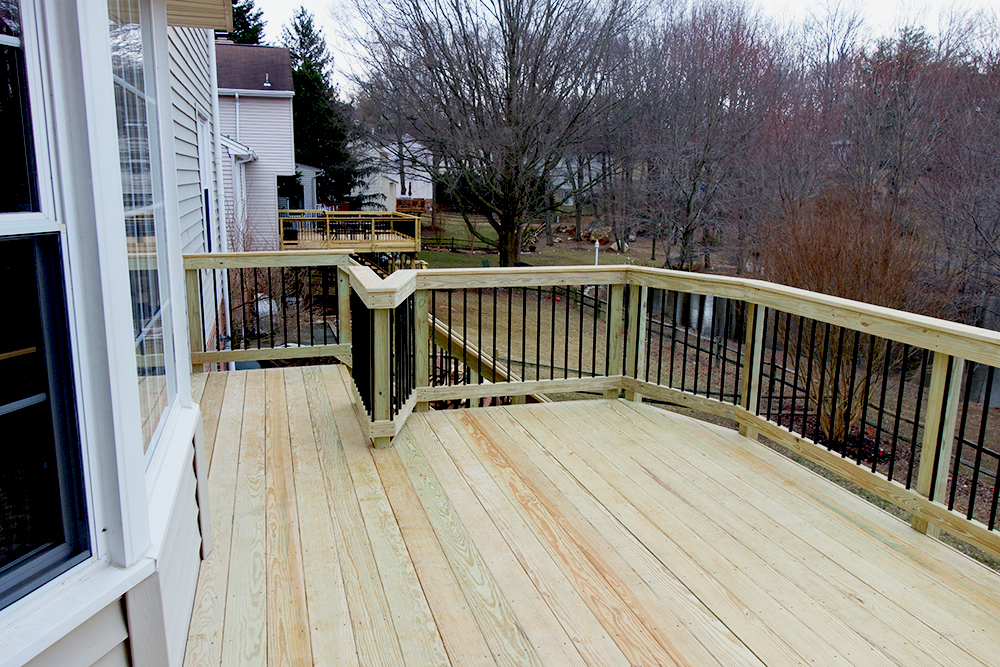 Image of: Top Pressure Treated Decking