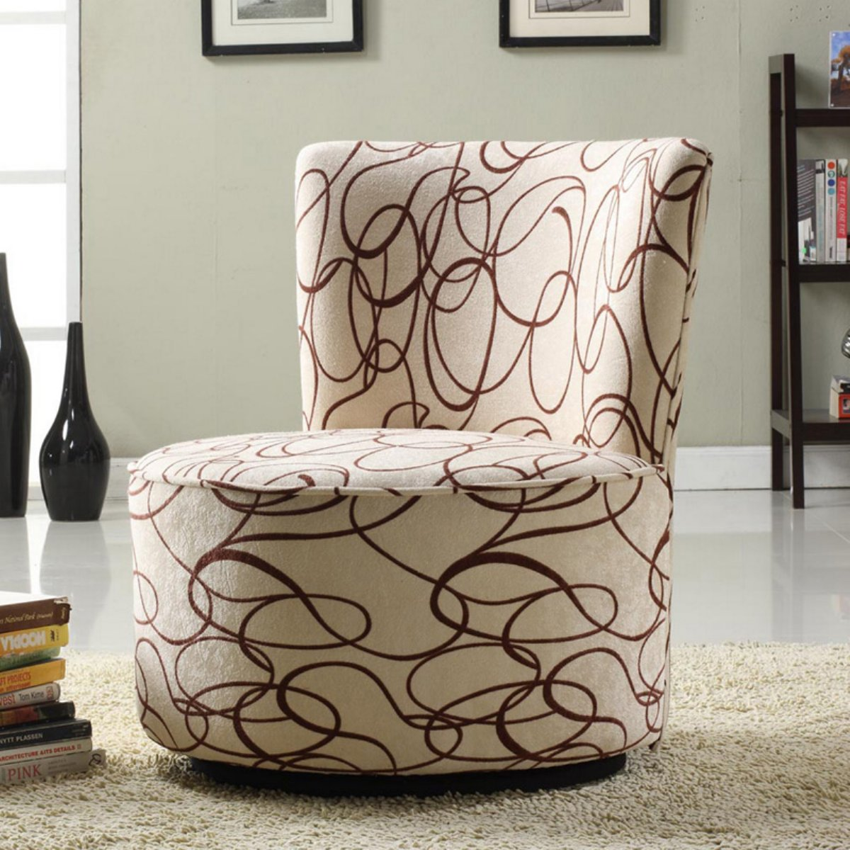 Top Swivel Accent Chairs