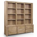 Traditional Bookcases with Doors