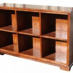 Traditional Mission Style Bookcase Furniture
