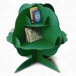Tree Bookcase for Kids Rooms green