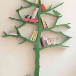 Tree Bookcase for Kids Rooms tall