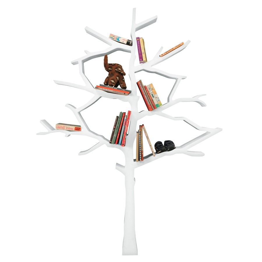 Image of: Tree Bookcase  for Kids Rooms