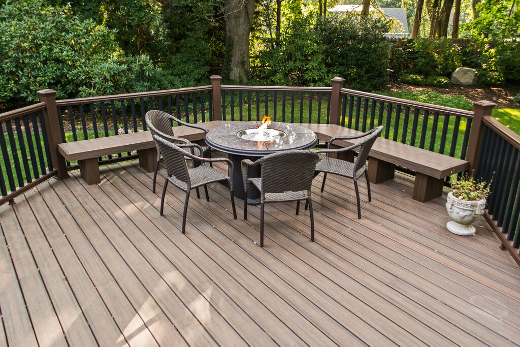 Image of: Trex Decking Board Cost