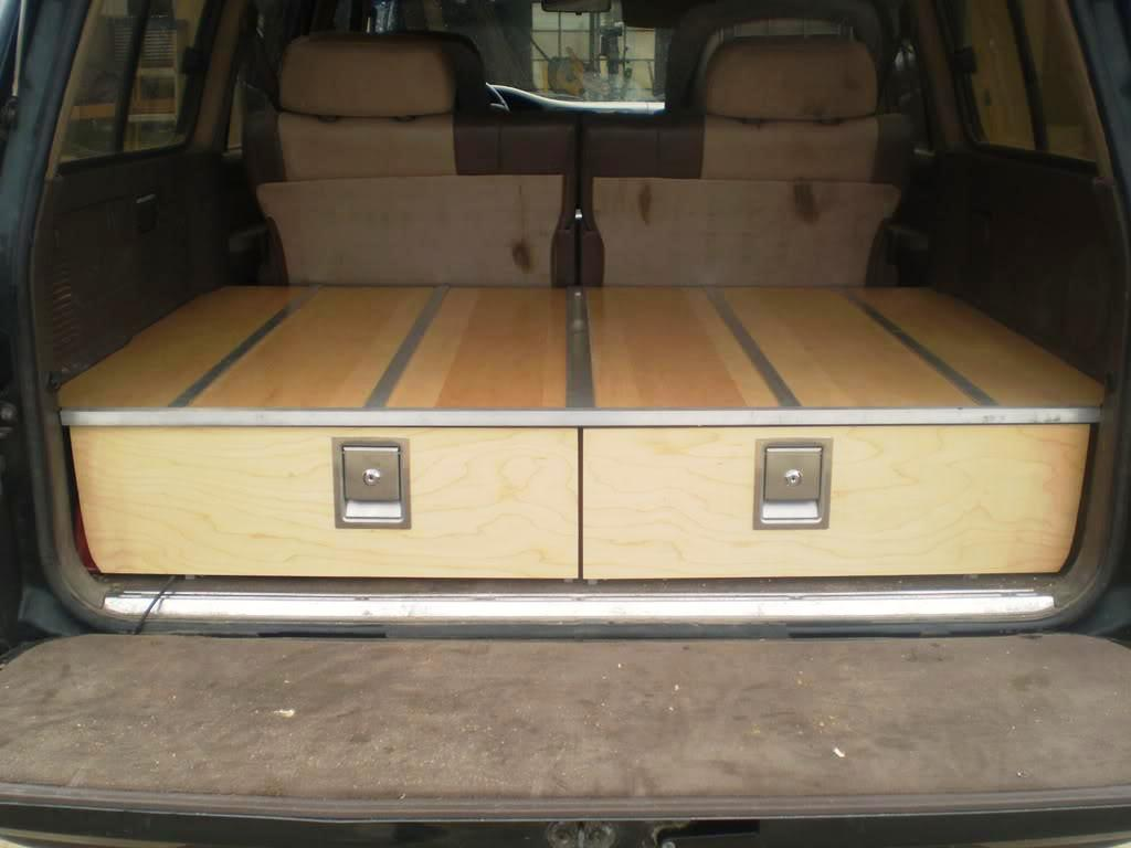 Image of: Truck Bed Storage Drawer Plans