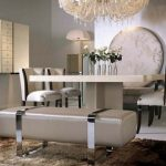 tufted dining chair image