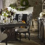 tufted dining chairs image