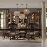 tufted dining chairs with nail head trim