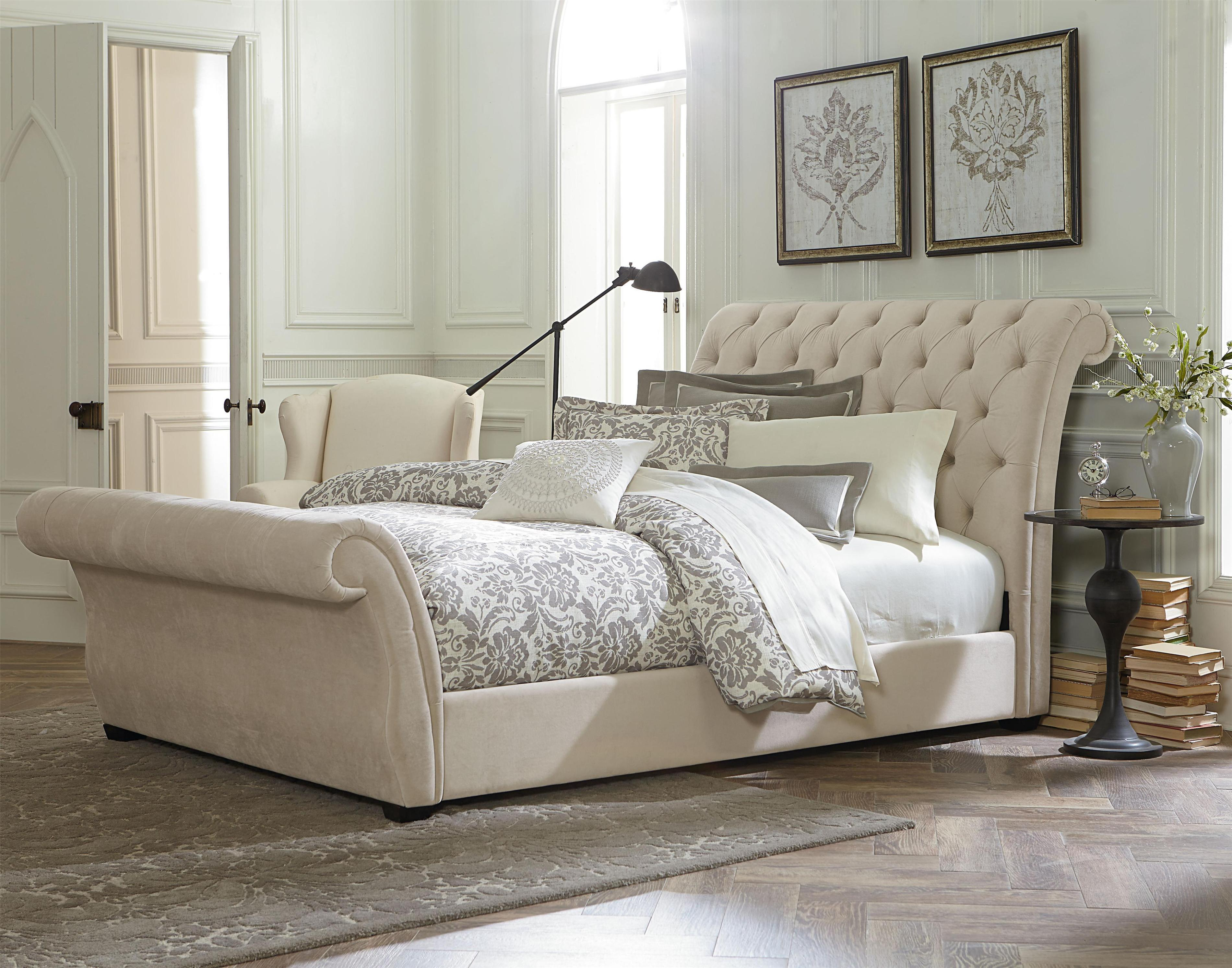 Image of: Tufted Headboard Queen Bed