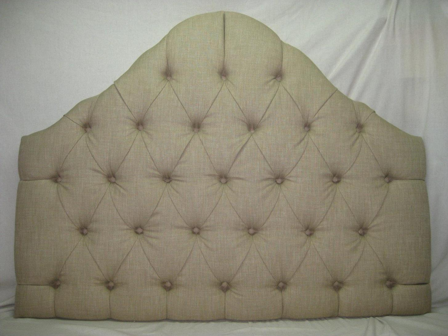 Image of: Tufted Headboards Queen