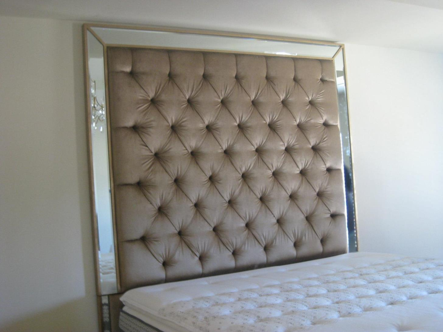 Image of: Tufted Headboards With Crystals
