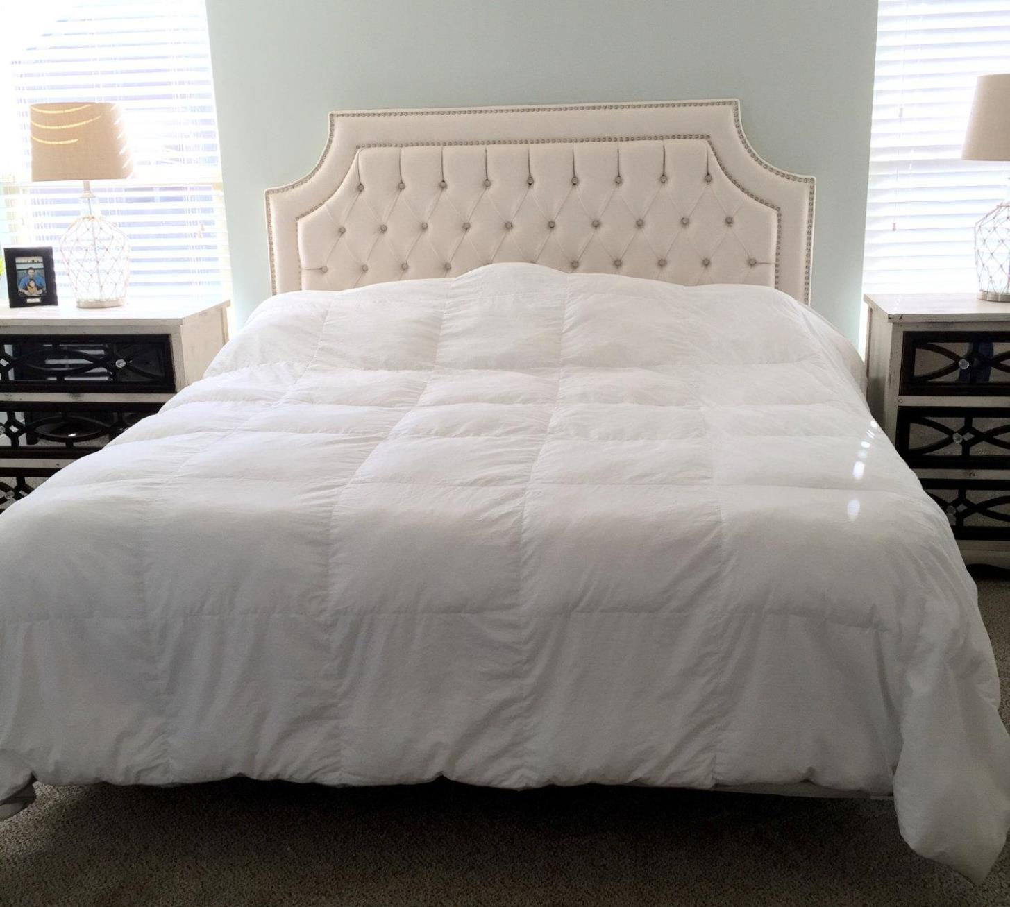 Image of: Tufted Headboards With Nailheads