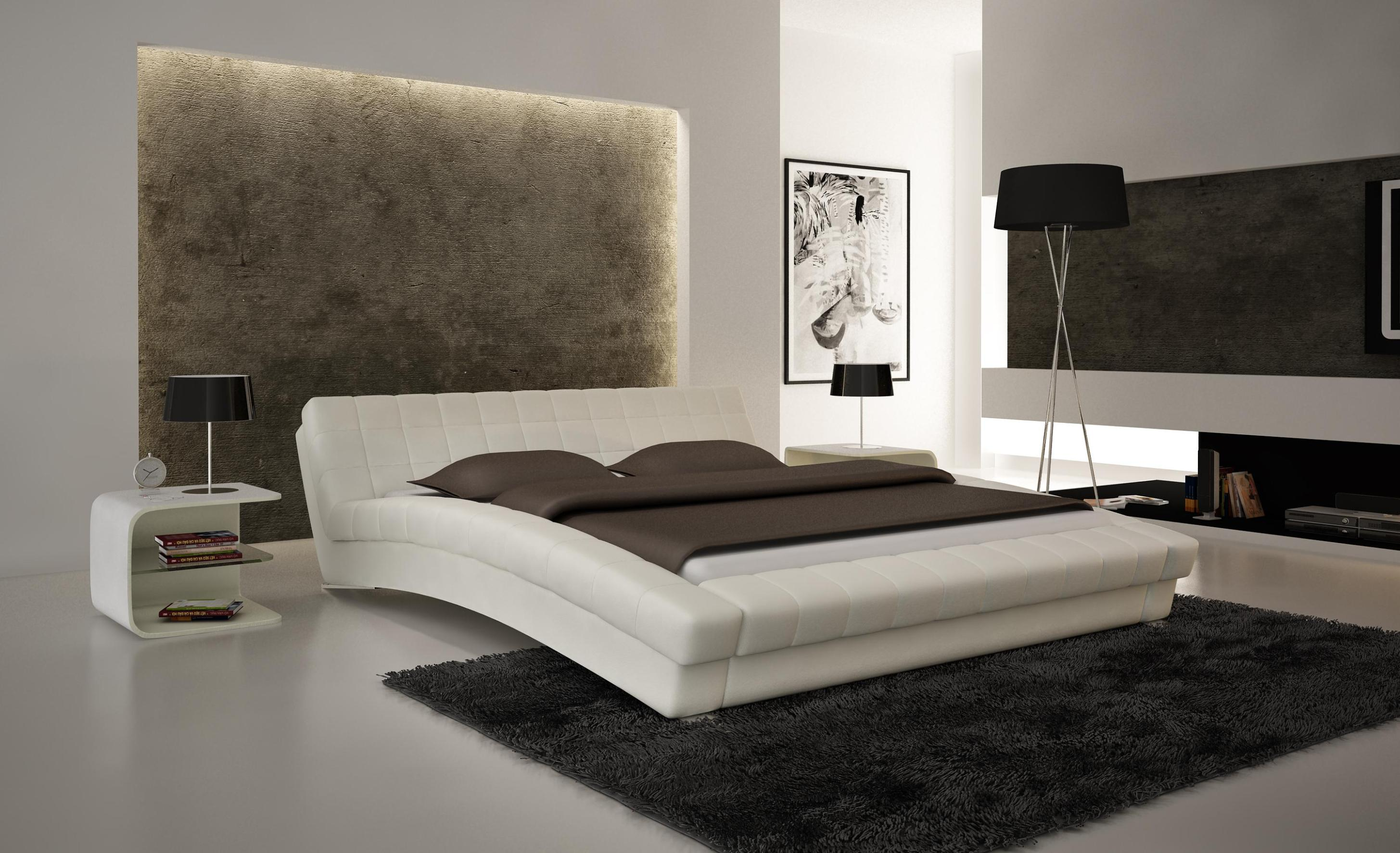 Image of: Tufted Upholstered Bed