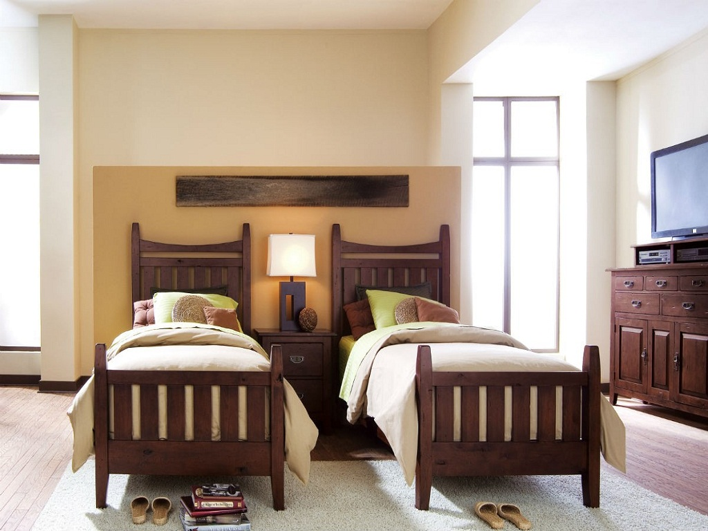 Image of: Twin Bed Frame Base