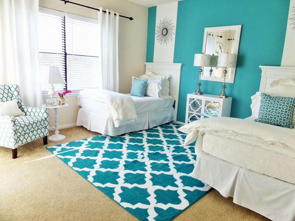Image of: Twin Bed Ideas For Guest Room