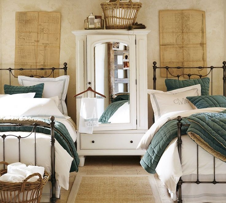 Image of: Twin Beds For Guest Room