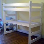 Twin Loft Bed With Desk Canada