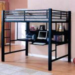 Twin Loft Bed With Desk Metal