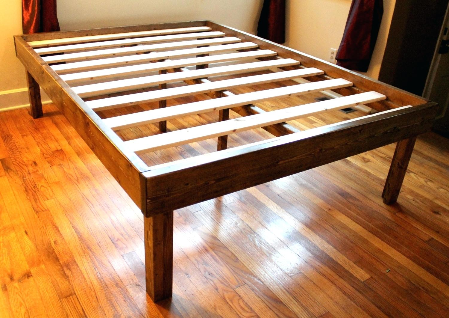 Image of: Twin Platform Bed Frame Amazon