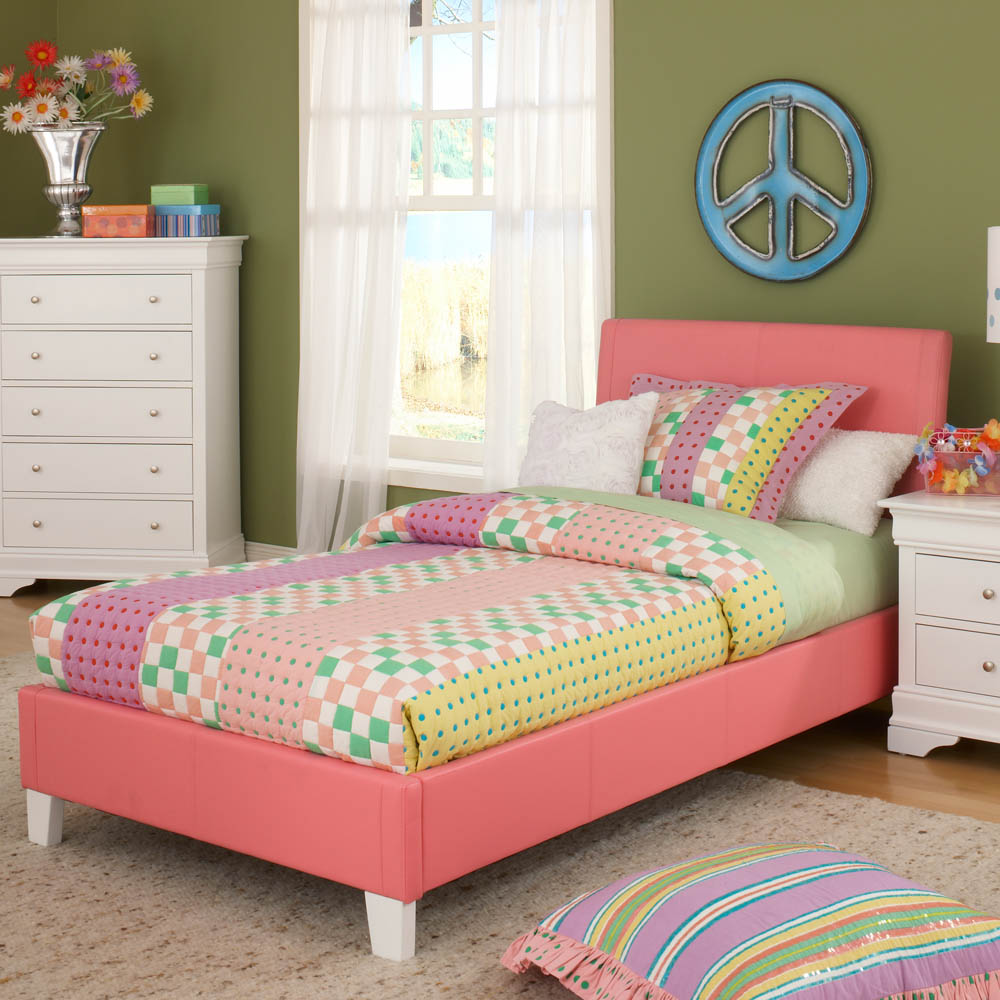 Image of: Twin Size Headboards Kids Beds