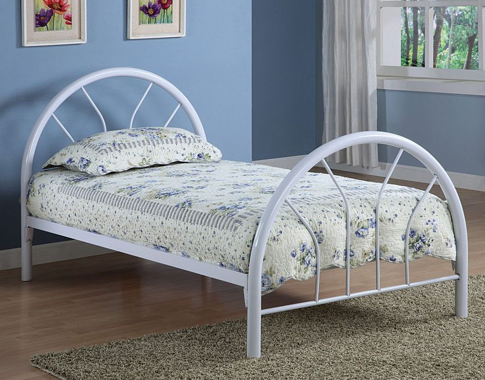 Image of: Best Twin Size Headboards White Curv