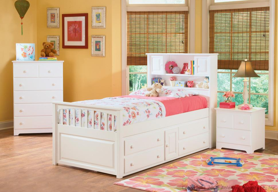 Image of: Twin Size Headboards White Pink Ideas