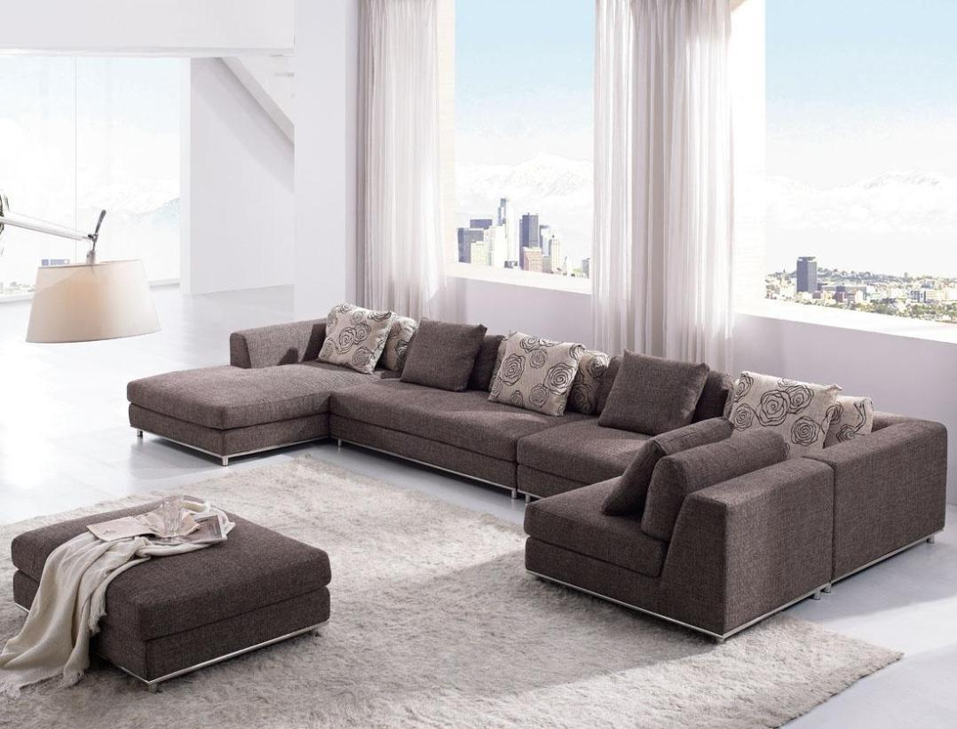 Image of: U Shaped Sectional Couches