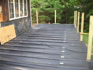 Image of: Under Deck Waterproofing System