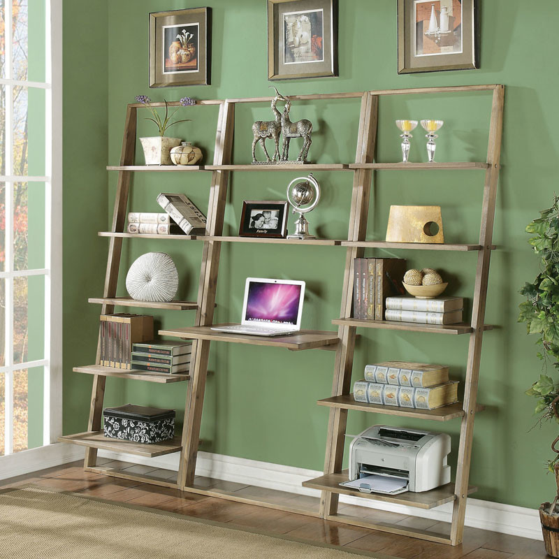 Image of: Under Window Bookcase Plans print