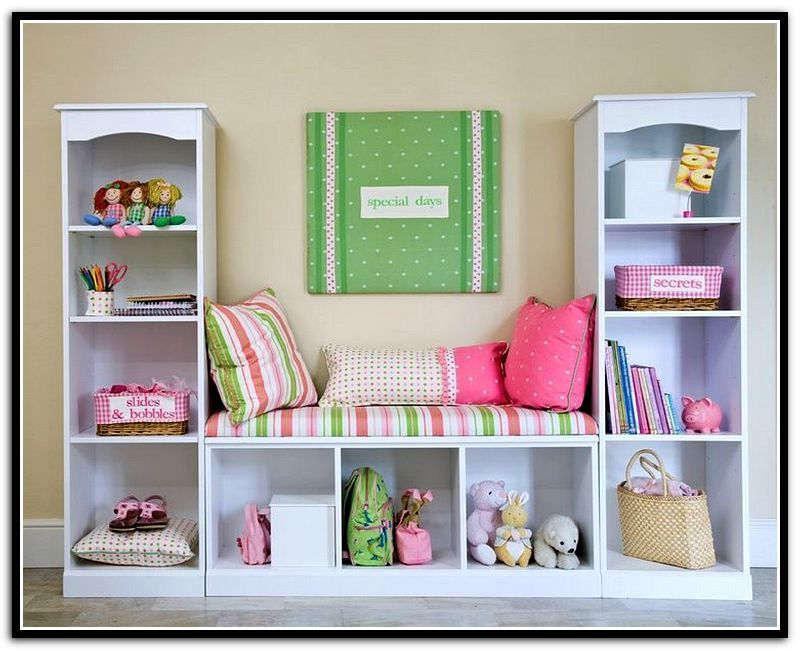 Image of: Under Window Bookcase Plans special