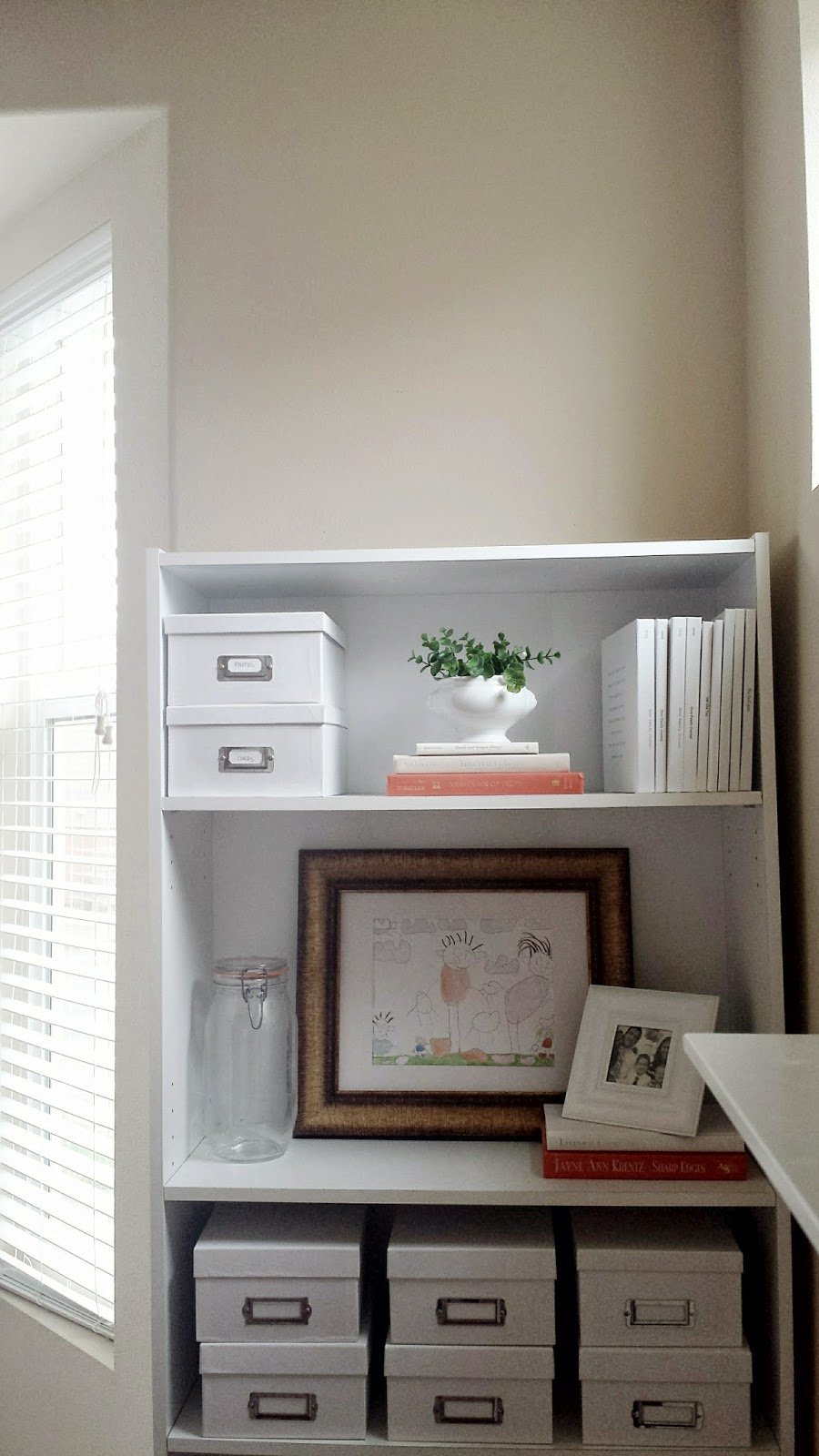 Image of: Under Window Bookcase Plans