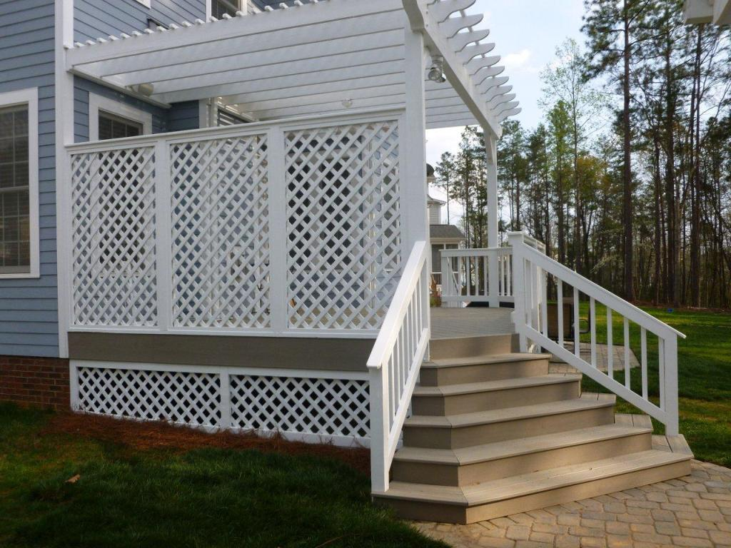Image of: Unique Deck Skirting Ideas