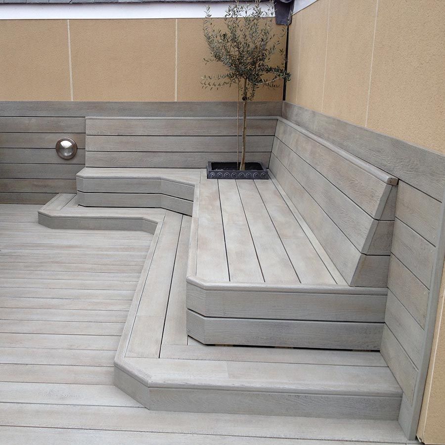 Image of: Unique Deck Skirting Material