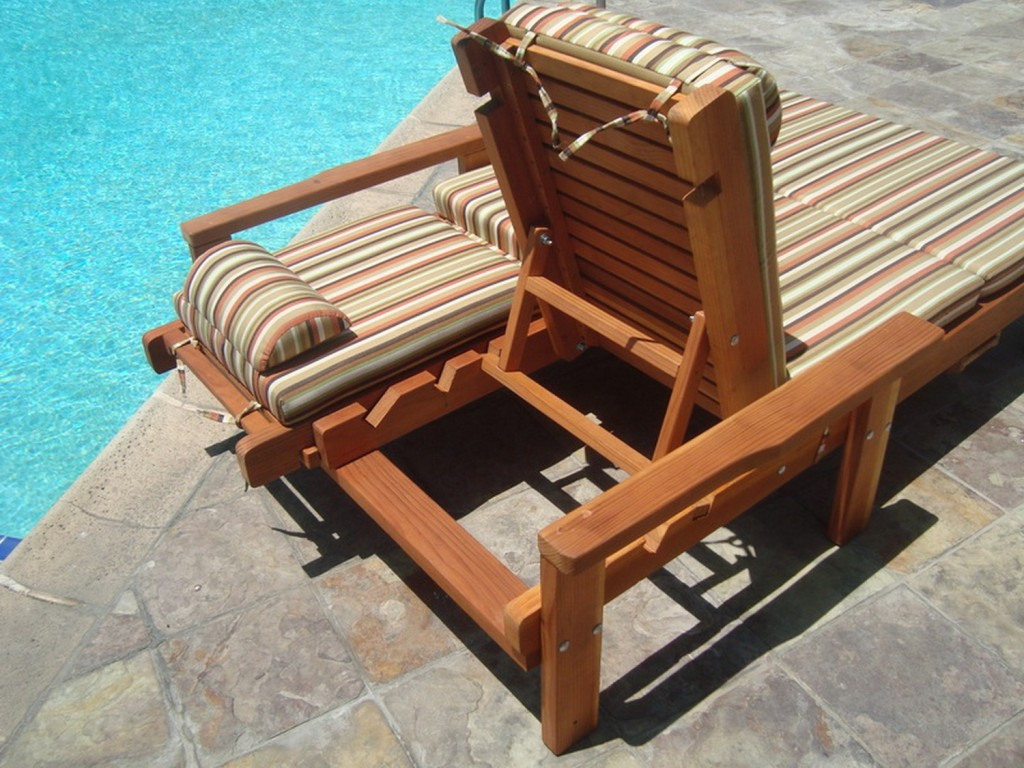 Image of: Unique Folding Chaise Lounge Chair