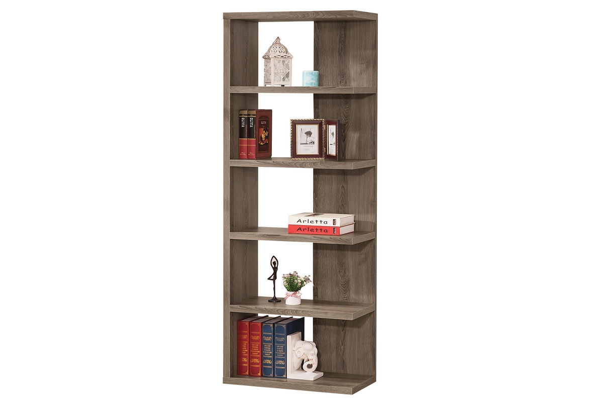 Unique Grey Bookcase