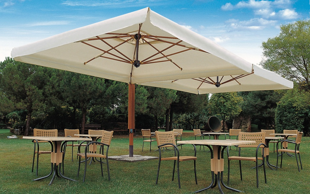 Unique Large Deck Umbrella