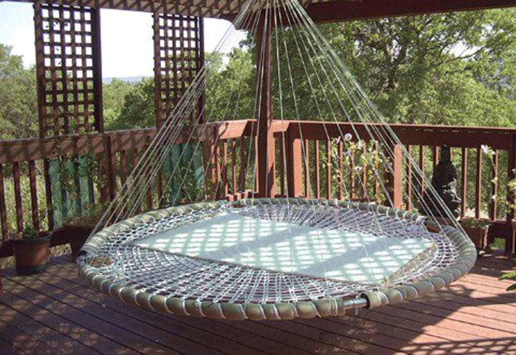 unique patio swing chair
