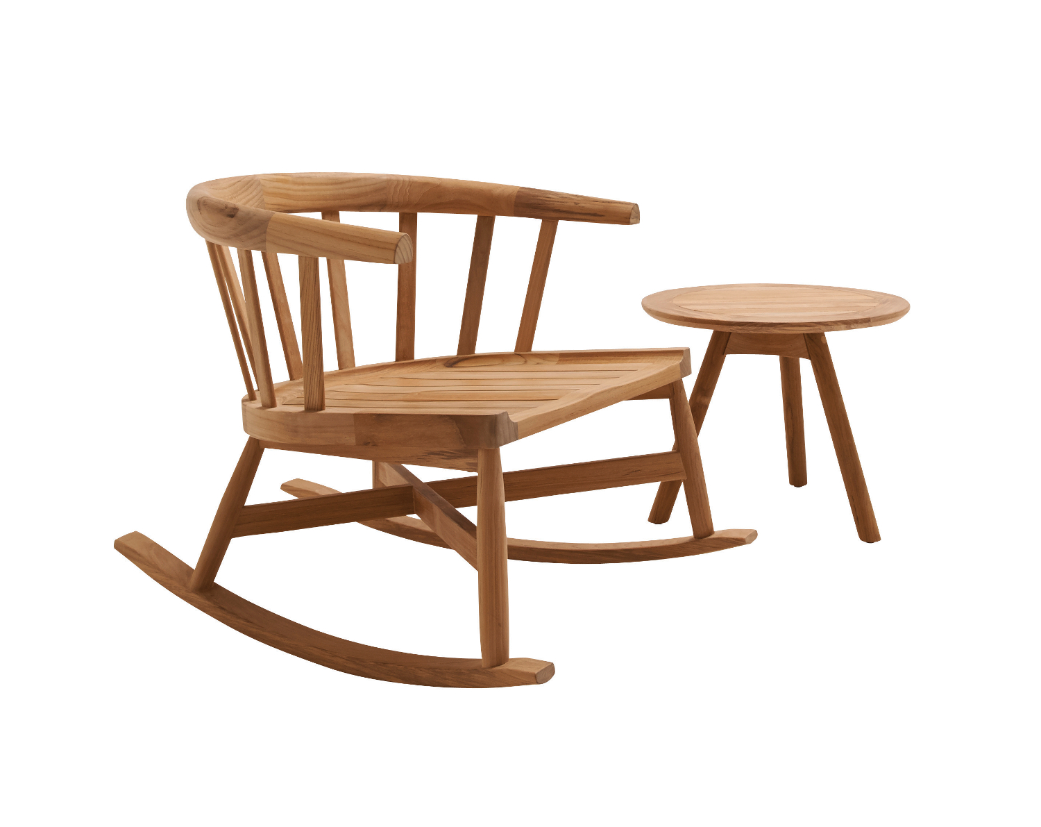 Image of: Unique Teak Lounge Chair