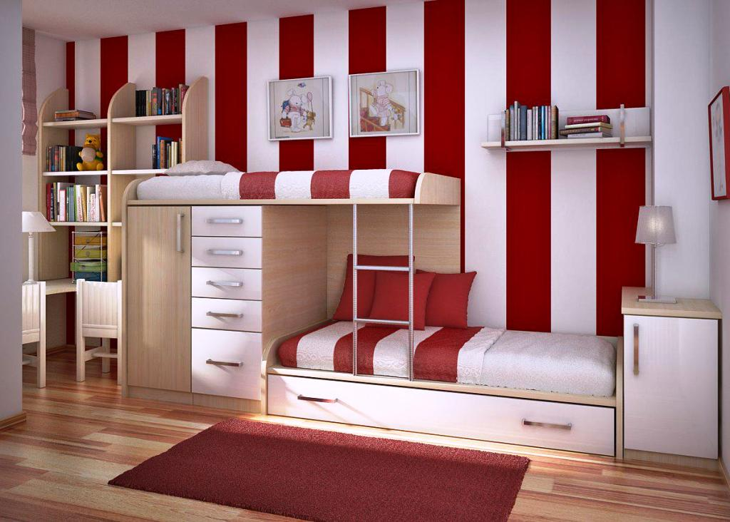 Image of: Unique Teenage Bedrooms