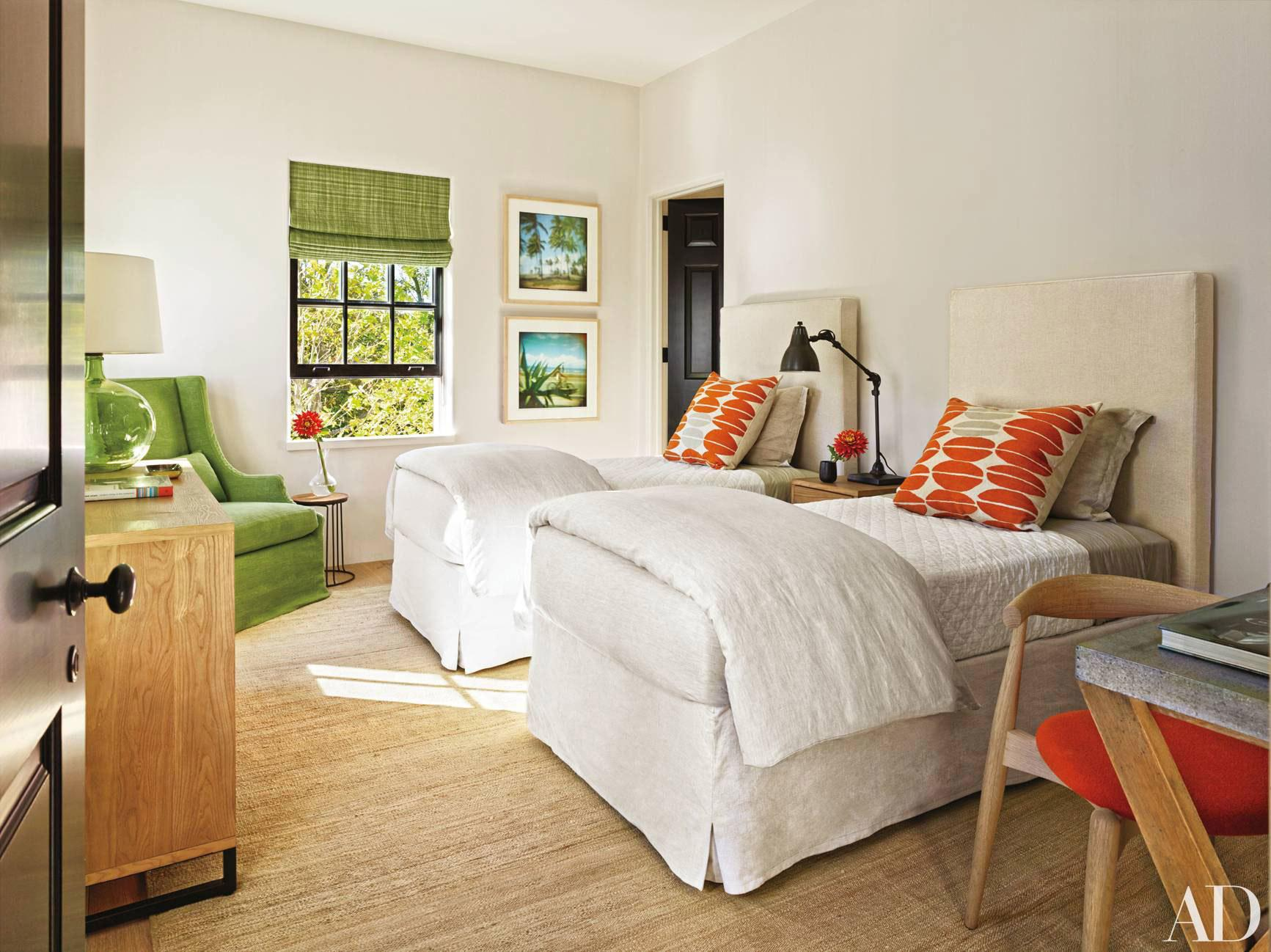 Image of: Unique Twin Bed Guest Room Ideas