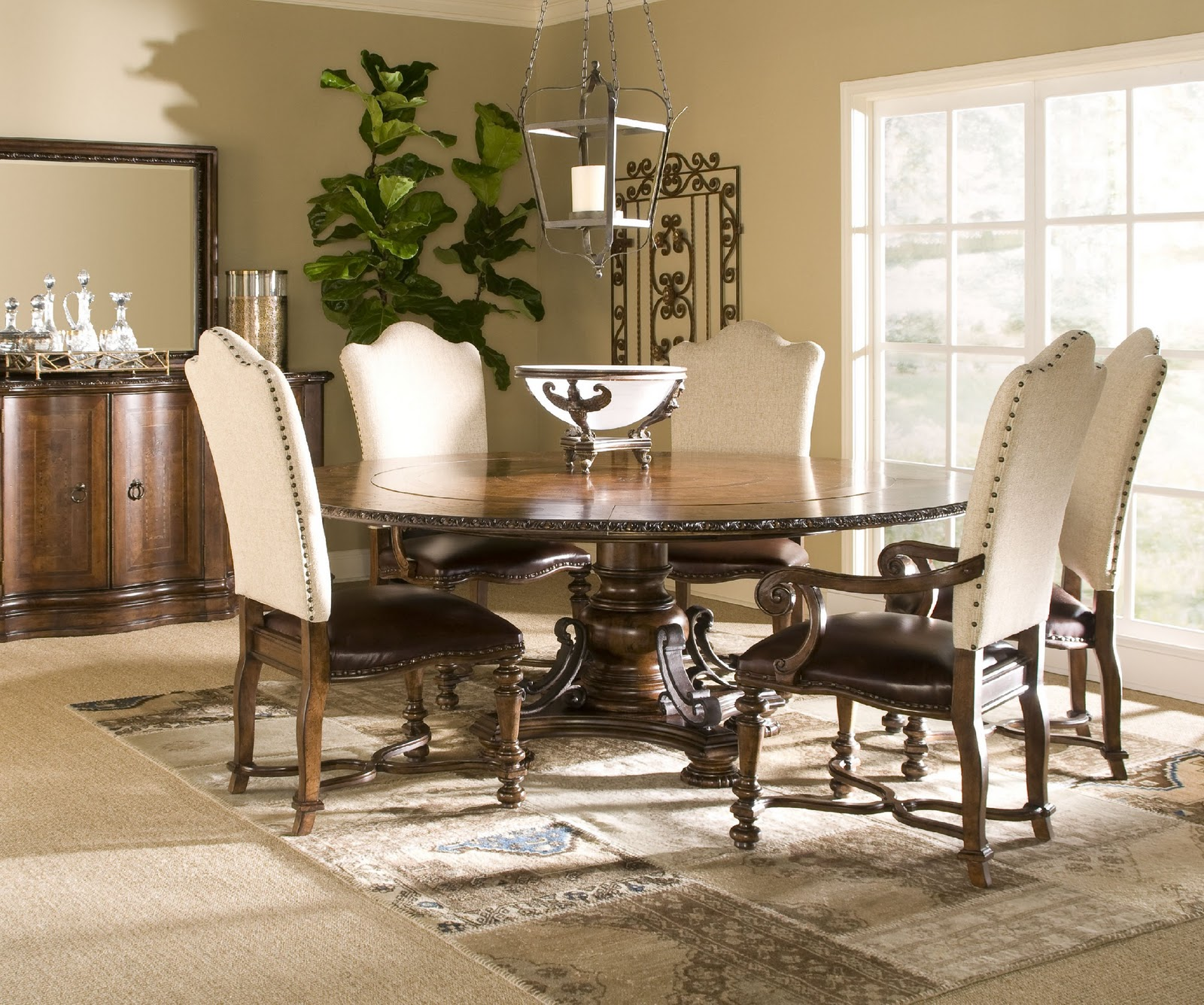Image of: upholstered accent chairs for dining room