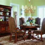 upholstered arm chair dining room