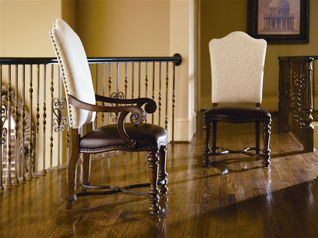 Image of: upholstered arm chair