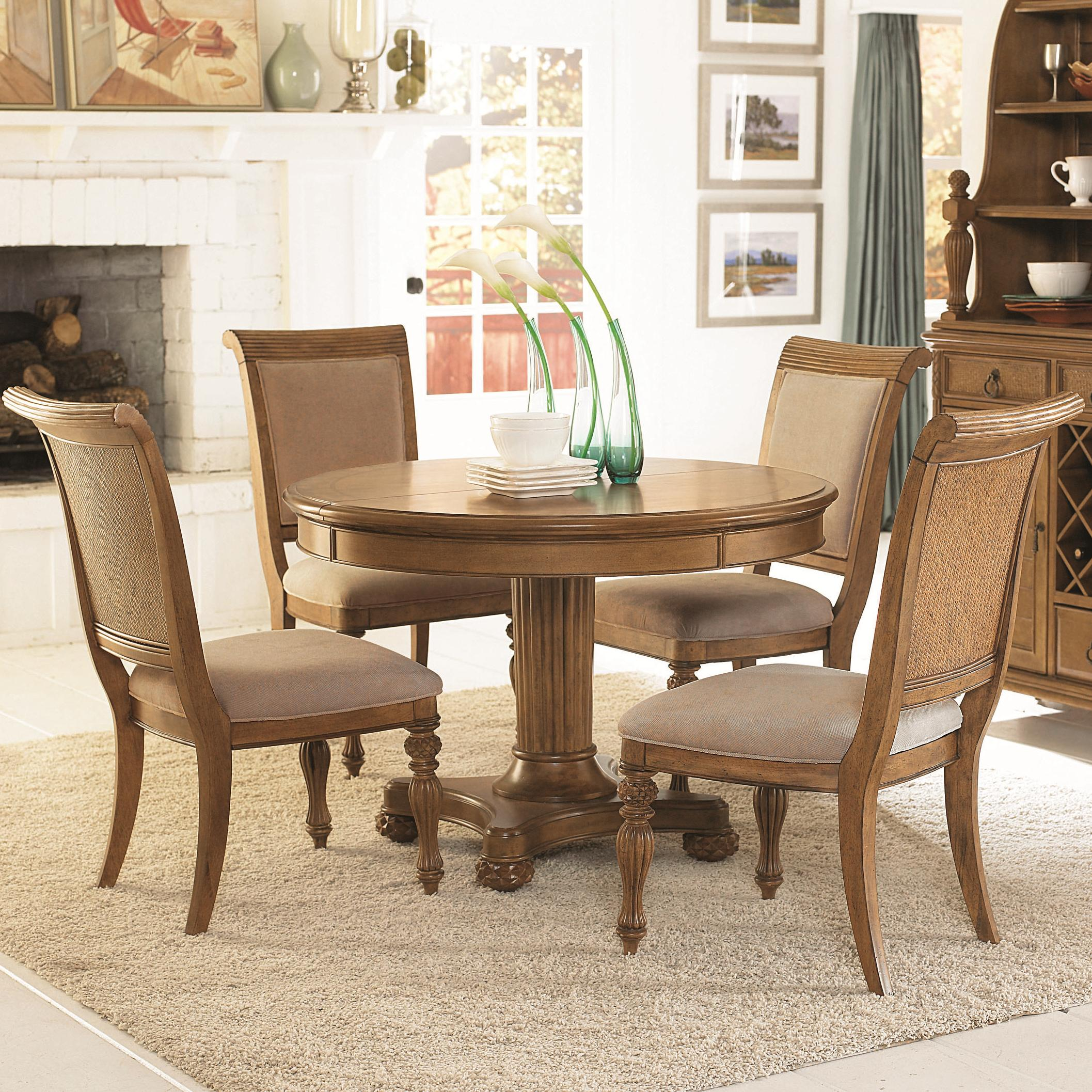 Image of: upholstered dining chair design