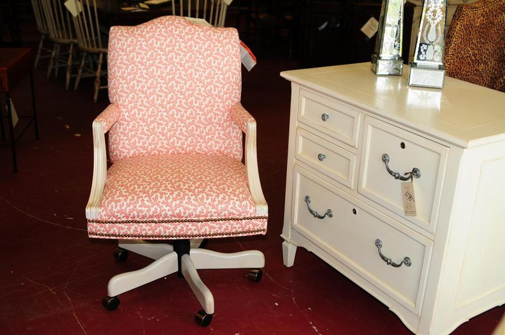 Image of: upholstered office chair on sale