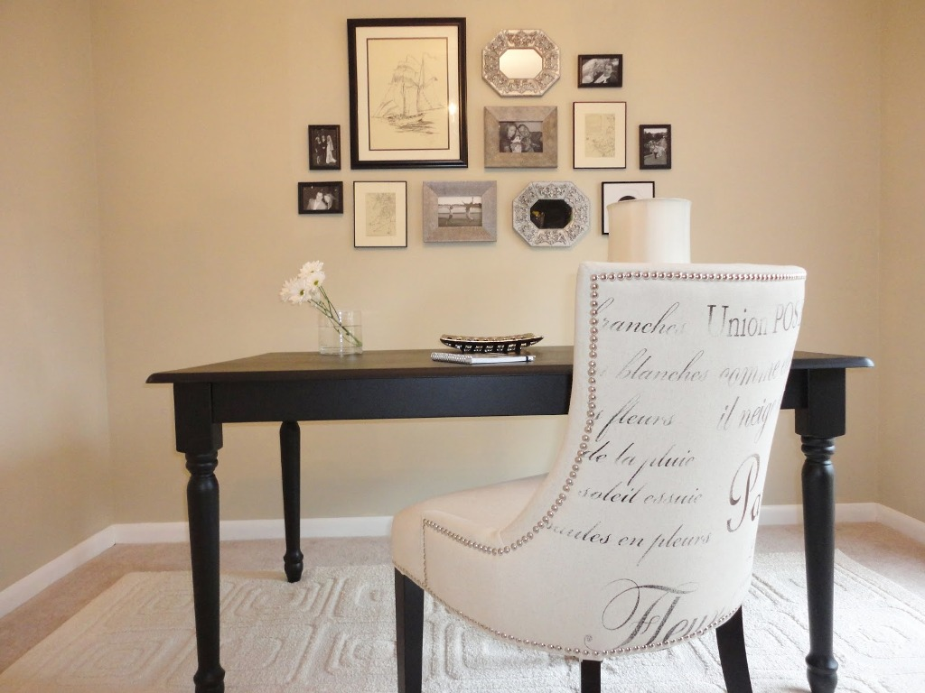 Image of: upholstered office chair on wheels
